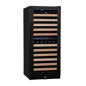 106 Bottle Dual Zone Convertible Wine Cellar by Kingsbottle