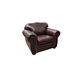 Monte Carlo Leather Club Chair by Omnia Leather