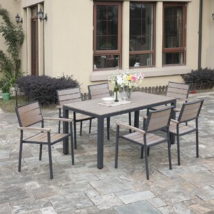 A&J Homes Studio Bequette 7-Piece Dining Set