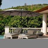 Aliceville 9 x 8 Free Form Market Sunbrella Umbrella