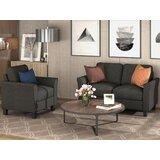 Armrest 2 Piece Standard Living Room Set by Winston Porter