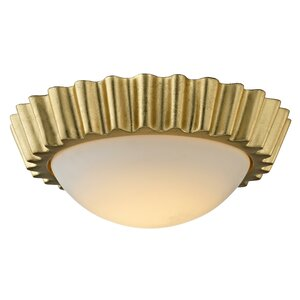 Anteus 1-Light LED Metal Flush Mount