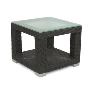 Check Prices Signature End Table with Tempered Glass Top Best Reviews