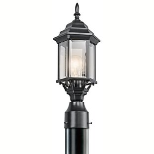 Top Reviews Bayou 1-Light Post Light By Three Posts