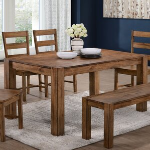 Berkshire Dining Table by World Menagerie