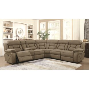 Shop Bourbonnais Reclining Sectional by Winston Porter