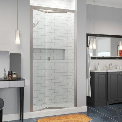 "Basco Infinity Bifold 31"" x 67"" Folding Semi-Frameless Shower Door"