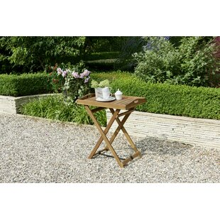 Edina Folding Solid Wood Bistro Table By Brambly Cottage