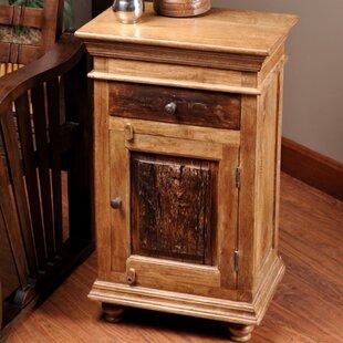 Loon Peak Bentonite Rustic End Table