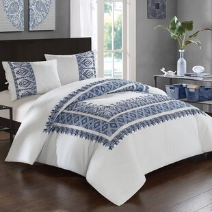 LUX-BED Sarita Garden Cotton 3 Piece Comforter Set