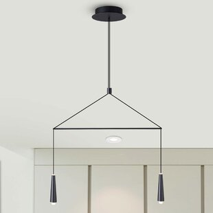 Brayden Studio Quaoar 2-Light LED Pendant