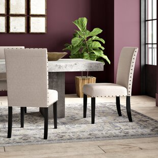 Haysi Fabric Upholstered Side Chair (Set of 2)