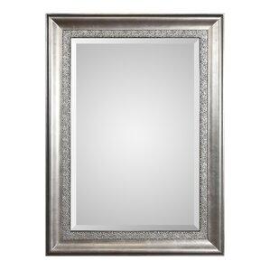 Silver Wall Mirrors antique silver wall mirror | wayfair