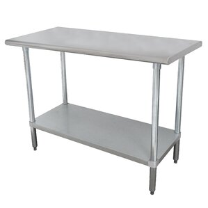 Wide Space-Saver Prep Table by Advance Tabco Compare Price