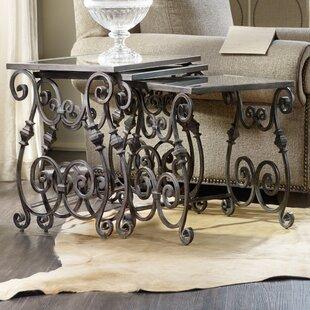 Hooker Furniture True Vintage 3 Piece Nesting Tables