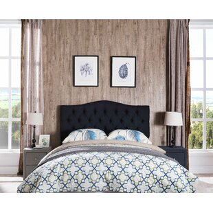 Compare Frausto Upholstered Panel Headboard by Charlton Home