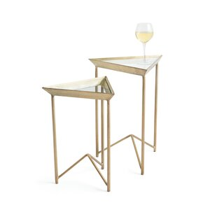 Best Reviews Astrid 2 Piece Nesting Tables By Mistana
