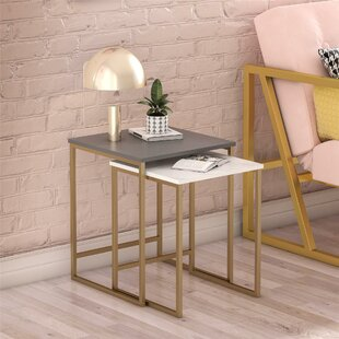 Compare Scarlett 2 Piece Nesting Tables by CosmoLiving