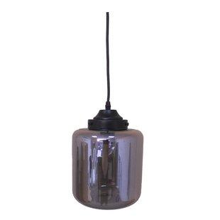 Roselani 1-Light Jar Pendant by Whitfield Lighting