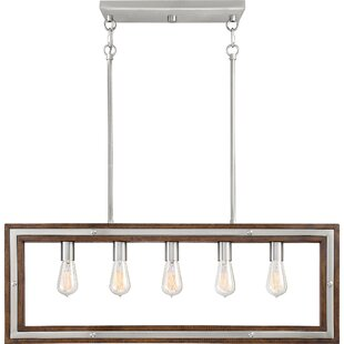 Graver 5-Light Kitchen Island Pendant by Ivy Bronx