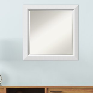 8207f0d0cf81 Berenice Narrow Burnished Silver Frame Rectangle Accent Wall Mirror