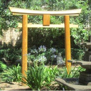 Sams Gazebos Japanese Shinto Temple Myojin Style Wooden Torii Garden Arbor