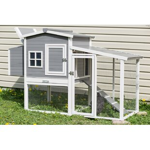 Dolly Chicken Coop With Nesting Box And Roosting Bar By Archie & Oscar