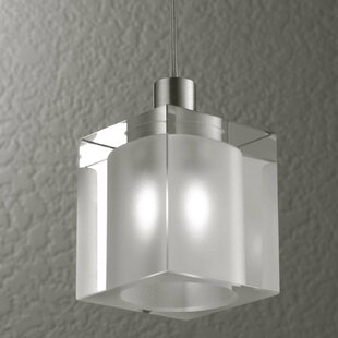 Alume 1-Light Rectangle Pendant by LumenArt