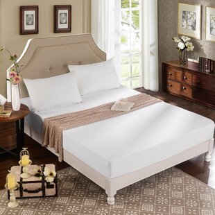 Viscose Rayon from Bamboo Terry Hypoallergenic Waterproof Mattress Protector by Alwyn Home