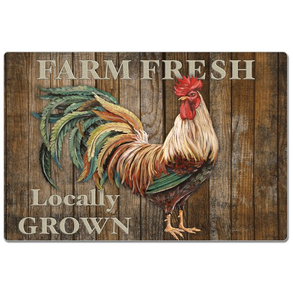 """Hand Towel Kitchen Dish Pig Cow /& /""""On The Top/"""" Rooster 28/"""" X 16/'/'"""