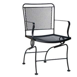 Constantine Coil Spring Patio Dining Chair by Woodard Savings