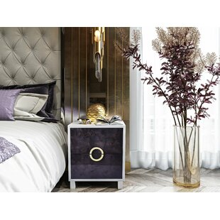 Everly Quinn Trish Lacquer Side Table