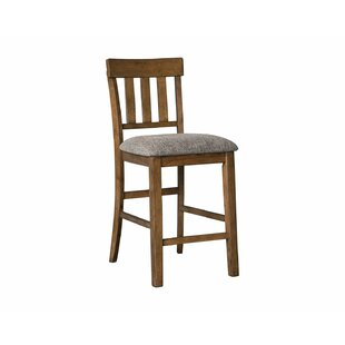 Fia Counter Height 26 Bar Stool Set of 2 by Millwood Pines