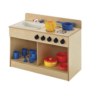 Toddler Sink and Stove Combo Kitchen Set by Childcraft