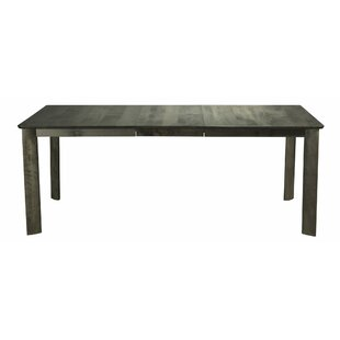 Marydel Solid Wood Dining Table Union Rustic