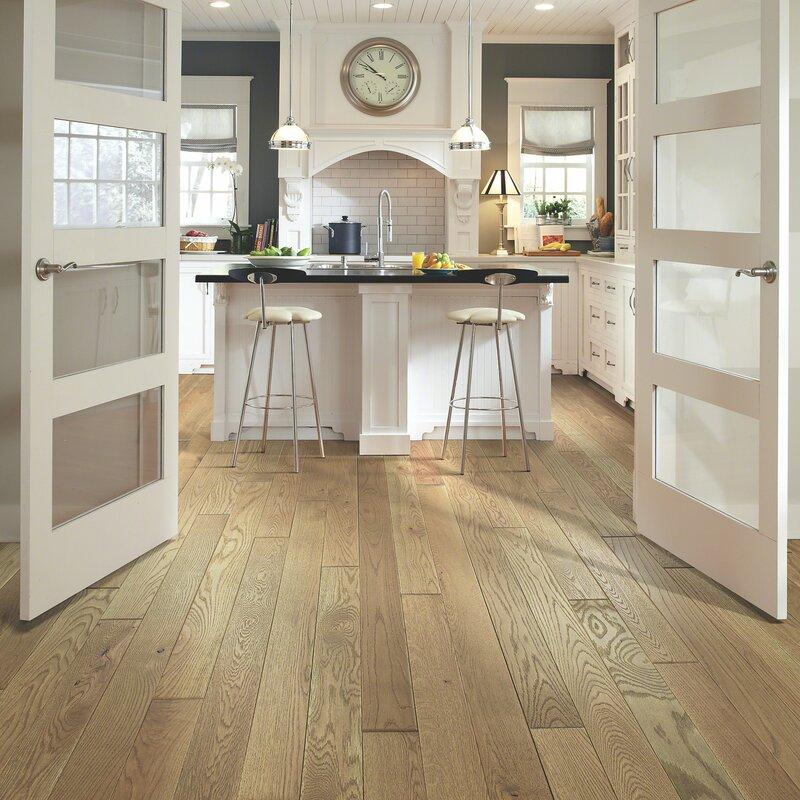 Nalcrest 4 Solid White Oak Hardwood Flooring in Waverly