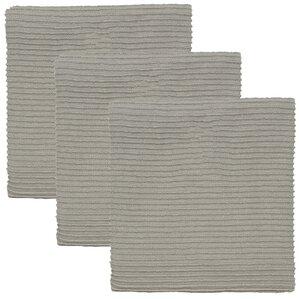Turkish Cotton Ripple Kitchen Towel (Set Of 3)