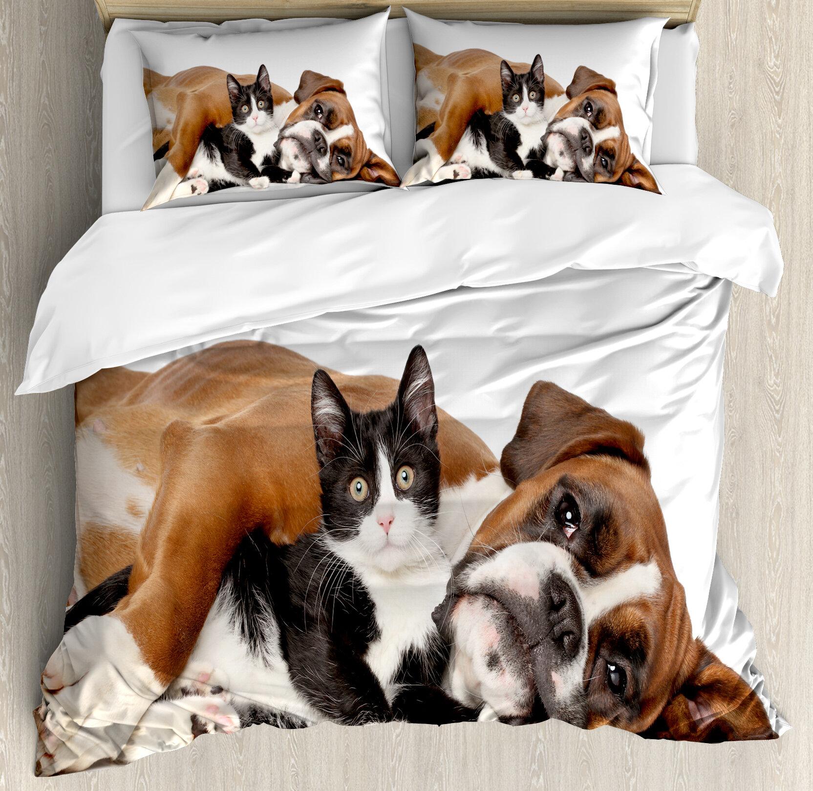 Dog duvet bed pet pillow cover duvet dog duvet pillow cover