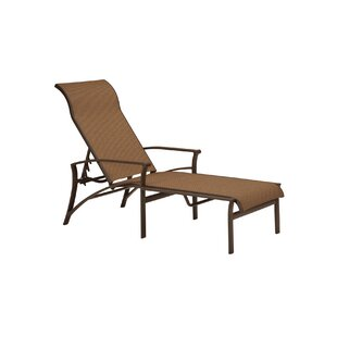 Corsica Reclining Chaise Lounge by Tropitone