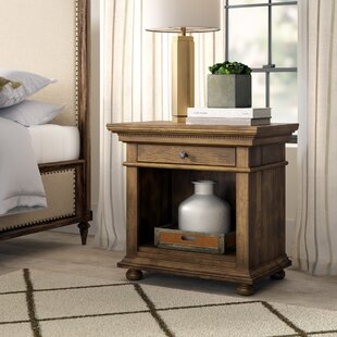 Greyleigh Asherton Open 1 Drawer Nightstand