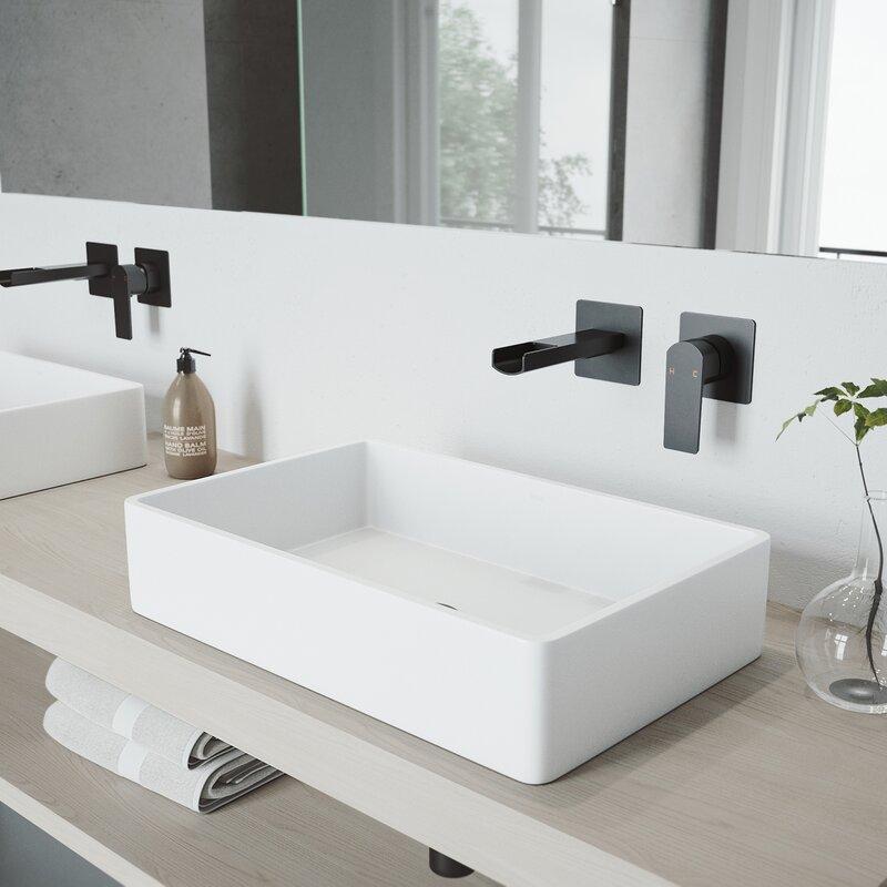 Superbe Atticus Wall Mounted Bathroom Faucet