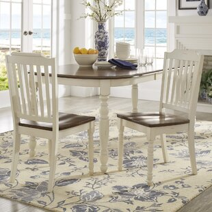 Whiteland Solid Wood Dining Chair (Set of..