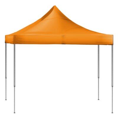 Laguna Canopy 10 Ft. W x 10 Ft. D Steel Pop-Up Canopy Colour: Orange