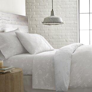 Charlton Home Lockport Printed 300 Thread Count 100% Cotton Sheet Set