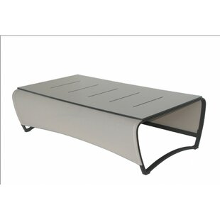 Jet Stream Aluminum Coffee Table by Les Jardins Purchase