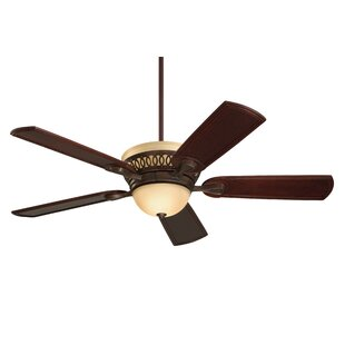 54 Erich 5 Blade Ceiling Fan with Remote, Light Kit Included by Darby Home Co