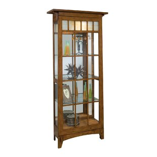Philip Reinisch Co. Roycroft Lighted Curio Cabinet