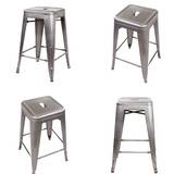 Putnam Backless Metal 24 Bar Stool (Set of 4) by Williston Forge