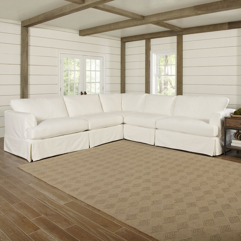 Clausen Sectional : sectional sofa slip cover - Sectionals, Sofas & Couches