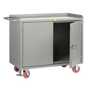 Mobile 54W Steel Top Workbench by Little Giant USA